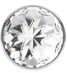 Анальный страз LOLA Diamond Clear Sparkle Small (2,8 х 6 см)