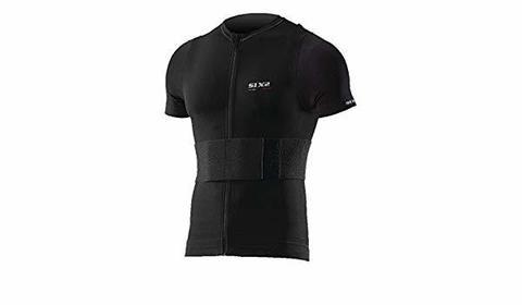 Sixs, Термобелье жакет с коротким рукавом с защитными накладками Kit Pro Ts8t, черный