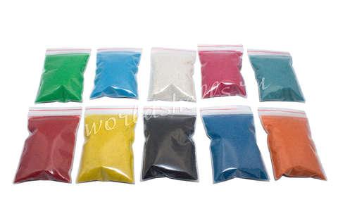 Цветной песок (набор 10 цветов по 300 гр.)