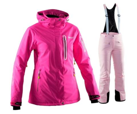 Женский горнолыжный костюм  8848 Altitude Aruba/Poppy (flox/pink)