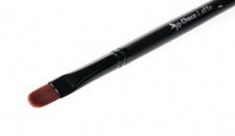 КИСТЬ R091 для коррекции, в том числе вокруг глаз, ворс:L13 мм, D9 мм, ТМ ChocoLatte
