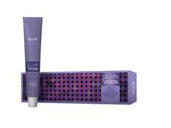OLLIN vision black (черный) крем-краска для бровей и ресниц 20мл+салфетки п/ресницы 15пар/уп