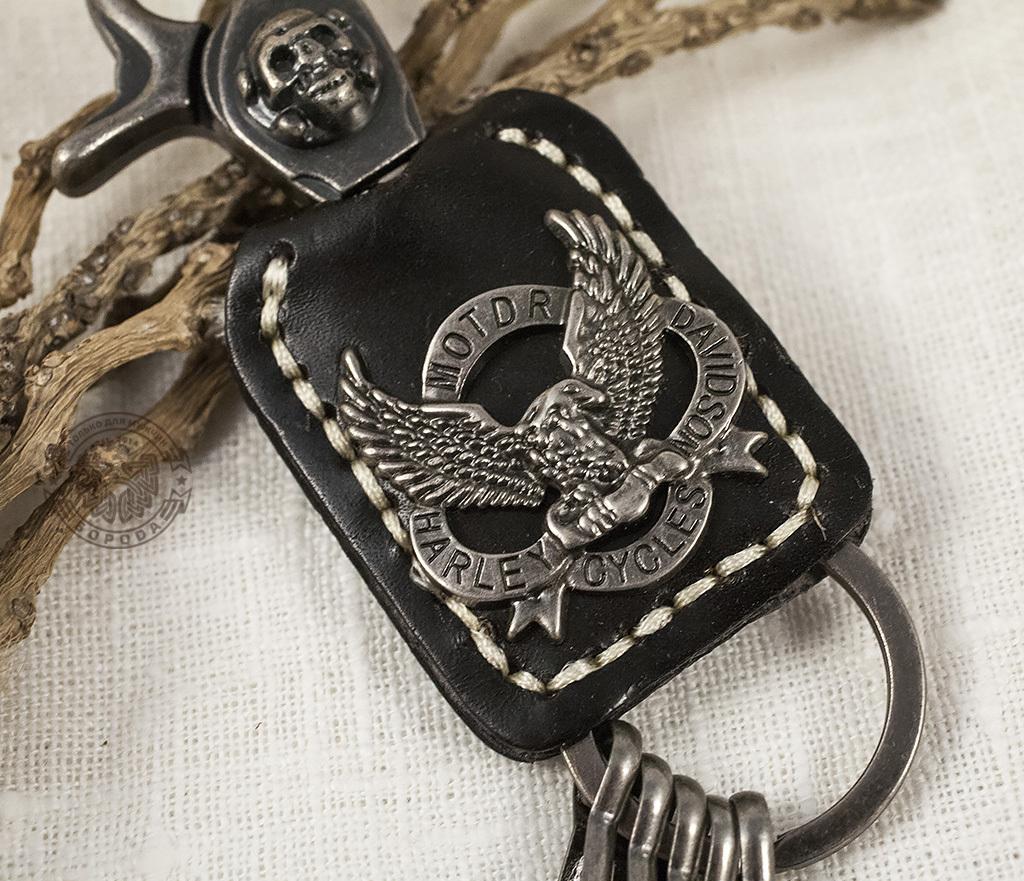 "KR107-1 Массивный брелок-ключница ""Eagle"" фото 03"