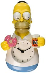 The Simpsons Homer 3-D Motion Clock