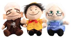 Вверх набор мягких игрушек героев мультфильма