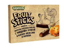 Конфеты фруктово-ореховые Fruit Sticks, 175г