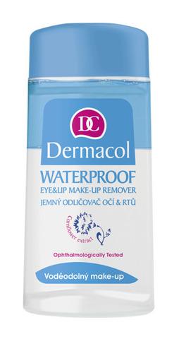 Dermacol  Waterproof eye make-up remover Двухфазное средство для снятия водостойкого макияжа