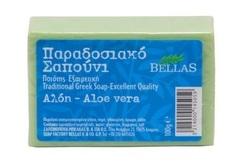 Греческое мыло с алоэ вера Bellas 100 гр