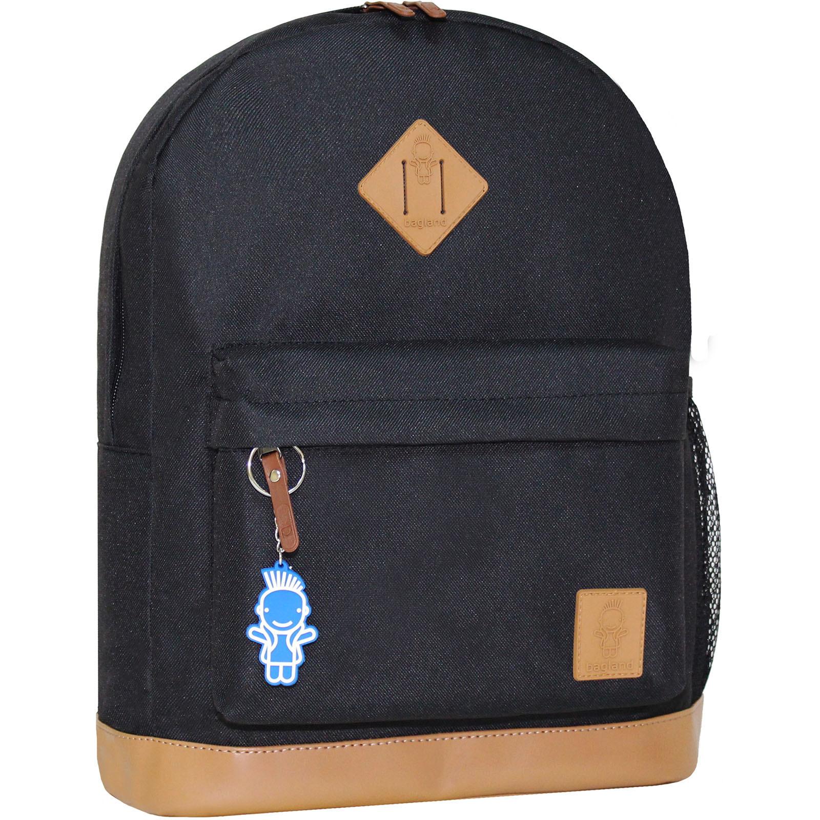 Городские рюкзаки Рюкзак Bagland Молодежный (кожзам) 17 л. Чёрный (00533663) IMG_3916.JPG