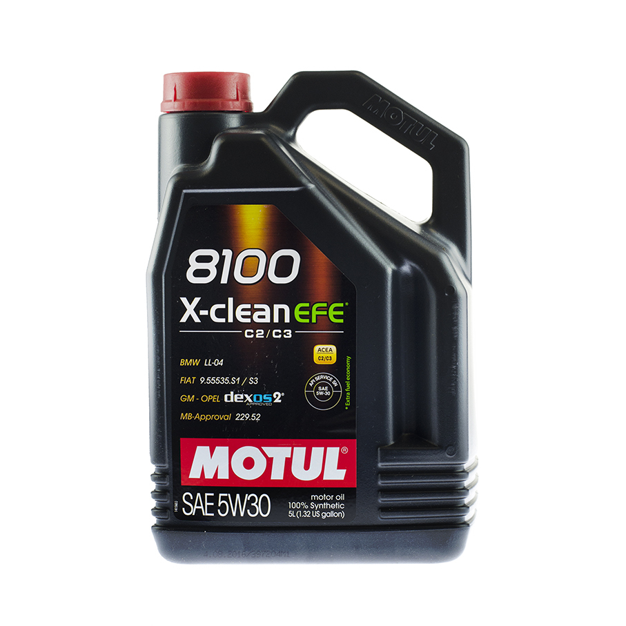Motul 8100 Х-Clean EFE 5W30 Синтетическое моторное масло