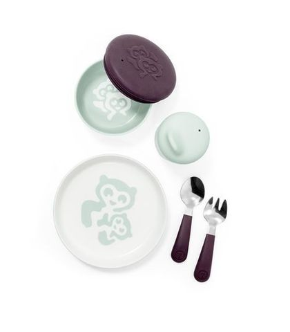 Stokke MUNCH Ежедневный набор детской посуды