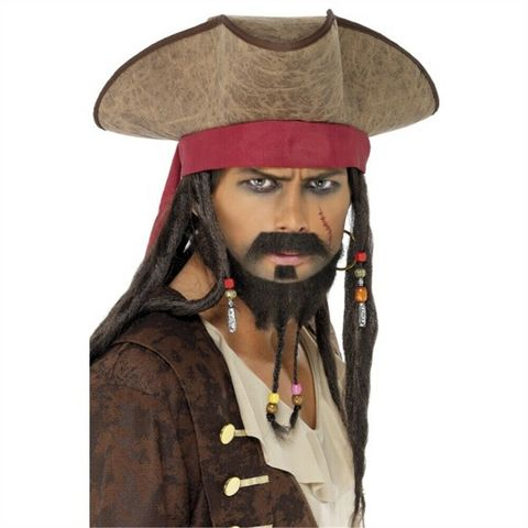 Пираты Карибского моря Пиратская шляпа Джека Воробья