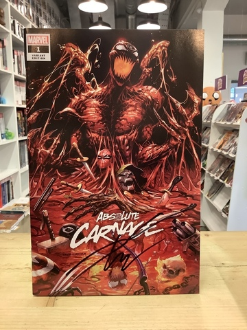 Absolute Carnage #1 Variant Cover (c автографом Donny Cates)