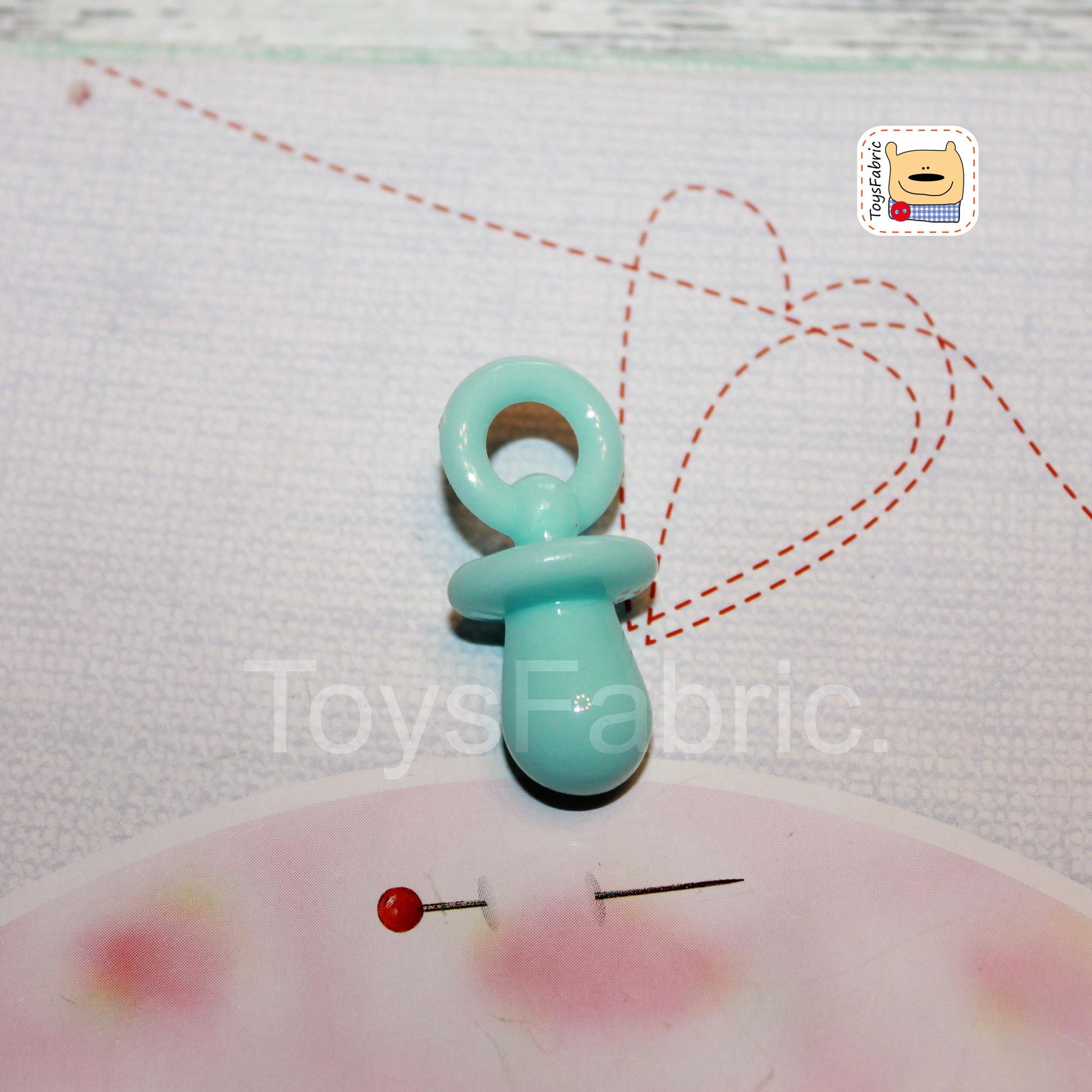Соска пустышка пластиковая (голубая XL) М152