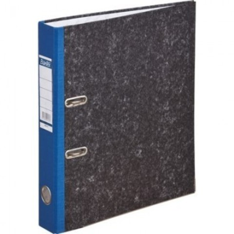 Папка с арочн.мех.BANTEX мрамор 1426-01, 50мм, синий