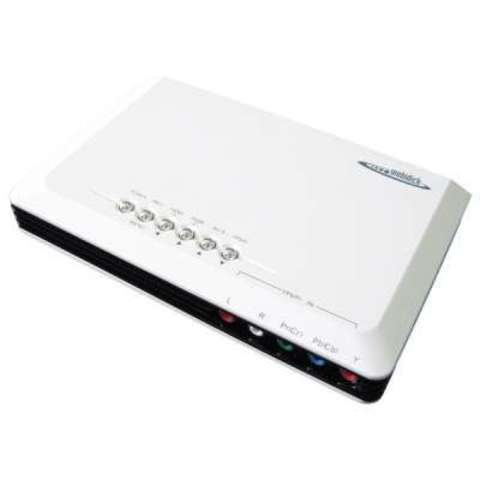 Mobidick VPCV510 Процессор HDMI Конвертер-апскейлер 5-in-1-out AUDIO in x 1, VIDEO in x 1, HDMI in x 2, HDMI OUTPUT x 1