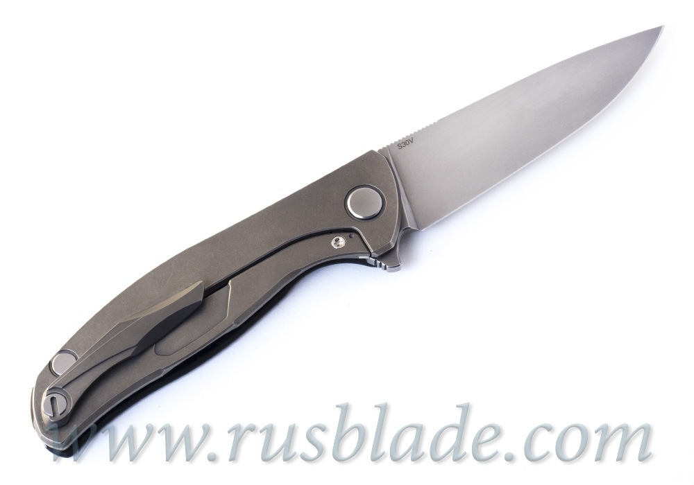 Shirogorov Hati S30V CF knife