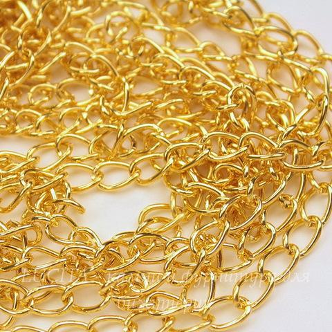 Цепь (цвет - золото) 8х5 мм, примерно 2 м