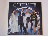 The Manhattan Transfer / Live (LP)