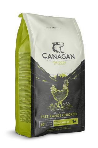 Сухой корм Canagan Grain Free Free-Run Chicken для собак мелких пород