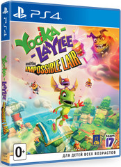 PS4 Yooka-Laylee and the Impossible Lair Стандартное издание (английская версия)