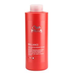 WELLA brilliance line бальзам для окрашенных жестких волос 1000мл.