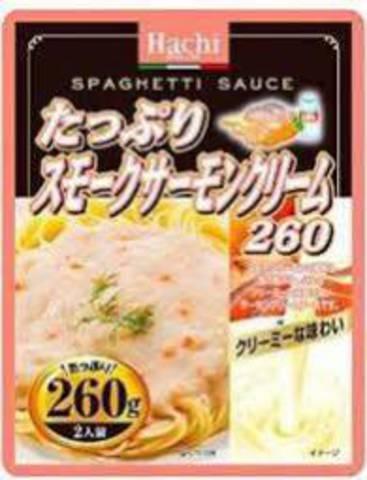 Соус для спагетти со вкусом грибов и лосося, 260 гр
