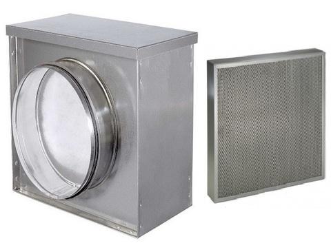 Жироулавливающий кассетный фильтр d 100 мм