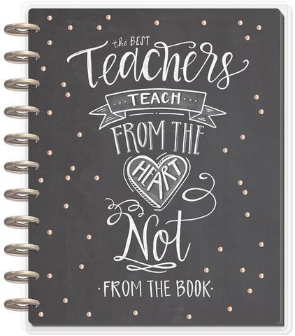 Ежедневник BIG - Happy Memory Keeping™ Planners -BIG Teacher Planner  - Датирован  (август 2019-июль 2020) -  23х28.5см