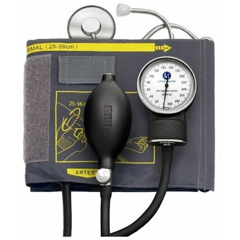 Тонометр LITTLE DOCTOR LD-71 механич. (со стетоск.) манжета 25-36см