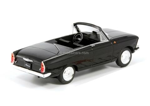 Moskvich-408 Tourist black 1:43 DeAgostini Auto Legends USSR #149