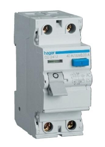 Устройство защитного отключения 2P 40A 30mA AC