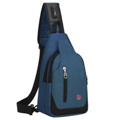 Однолямочный рюкзак SWISSWIN 1558 Синий