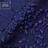 Темно-синий жаккард-клоке