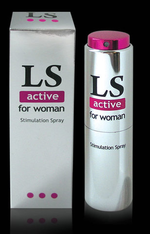 LOVESPRAY ACTIVE спрей для женщин стимулятор оргазма 18мл. фото