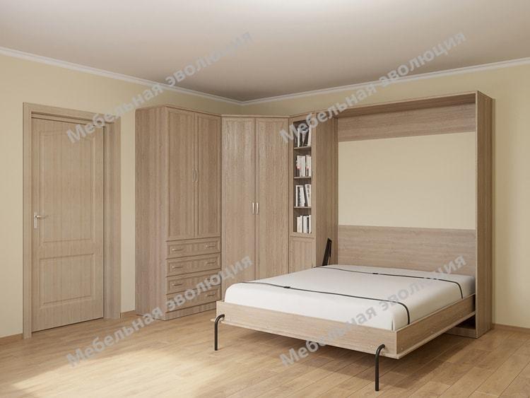 Спальня с кроватью 160 см queen size
