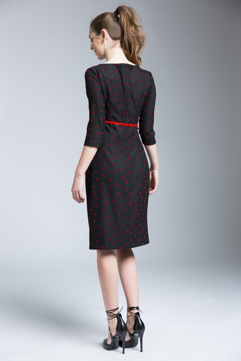 Платье 06178 черный