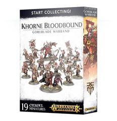 Khorne Bloodbound Goreblade Warband