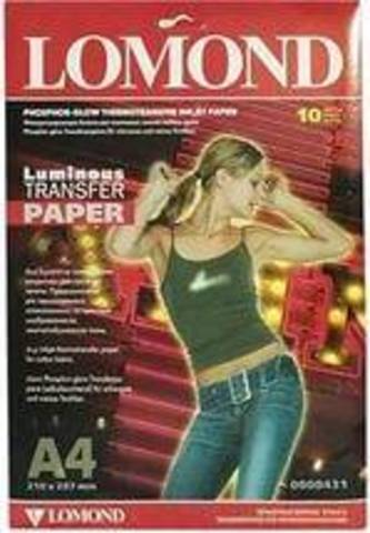 Lomond Transfer Luminous A4 10л 0808431