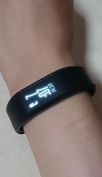 Garmin Vivosmart 3 черный большого размера