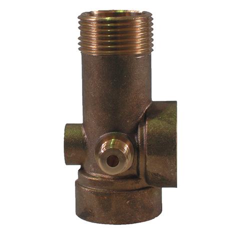 Штуцер пятивыводной UNIPUMP - 90 мм (латунь)