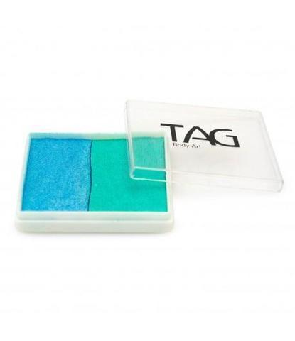 Аквагрим TAG 50гр перламутровый бирюзовый/голубой