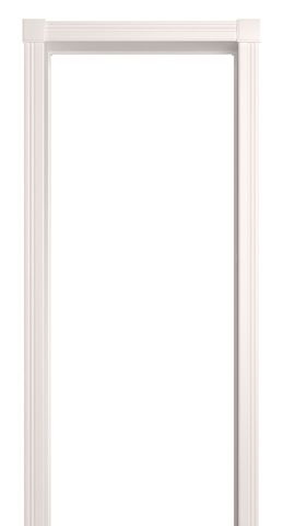 Арка межкомнатная ПВХ Лесма, Портал Люкс, цвет белая эмаль