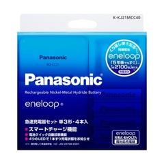 Зарядное устройство Panasonic K-KJ21MCC40 + 4AA 1900 mAh