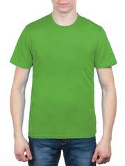 3366-9 футболка мужская, салатовая