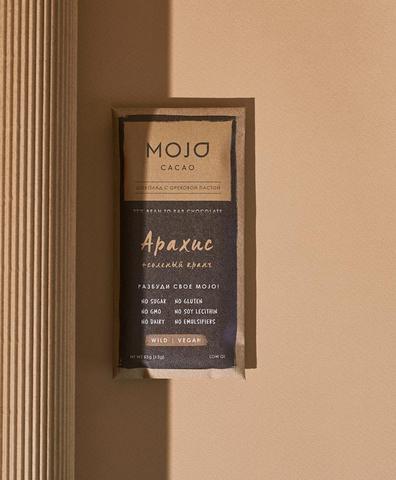 Горький шоколад Mojo Арахис