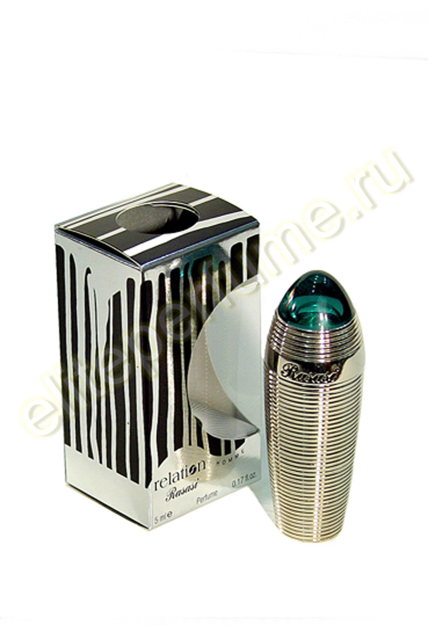 Отношения мужские Relation homme 5 мл арабские масляные духи от Расаси Rasasi Perfumes