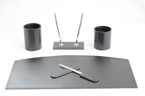 Набор из кожи на стол руководителю арт.1031-21СТ-5 предметов на www.kupi-buvar.ru