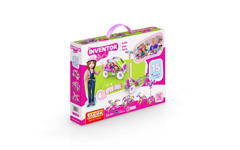INVENTOR GIRLS. Набор из 15 моделей