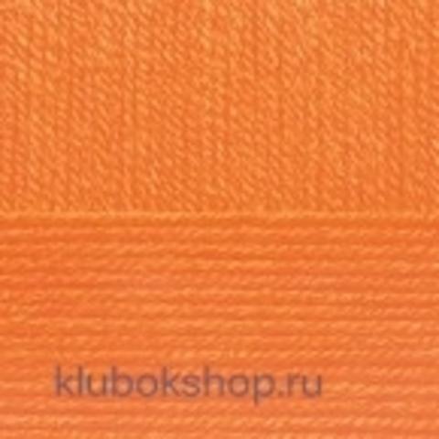 Пряжа Детская объемная (100 г/ моток) Пехорка 284 Оранжевый - купить в интернет-магазине недорого klubokshop.ru